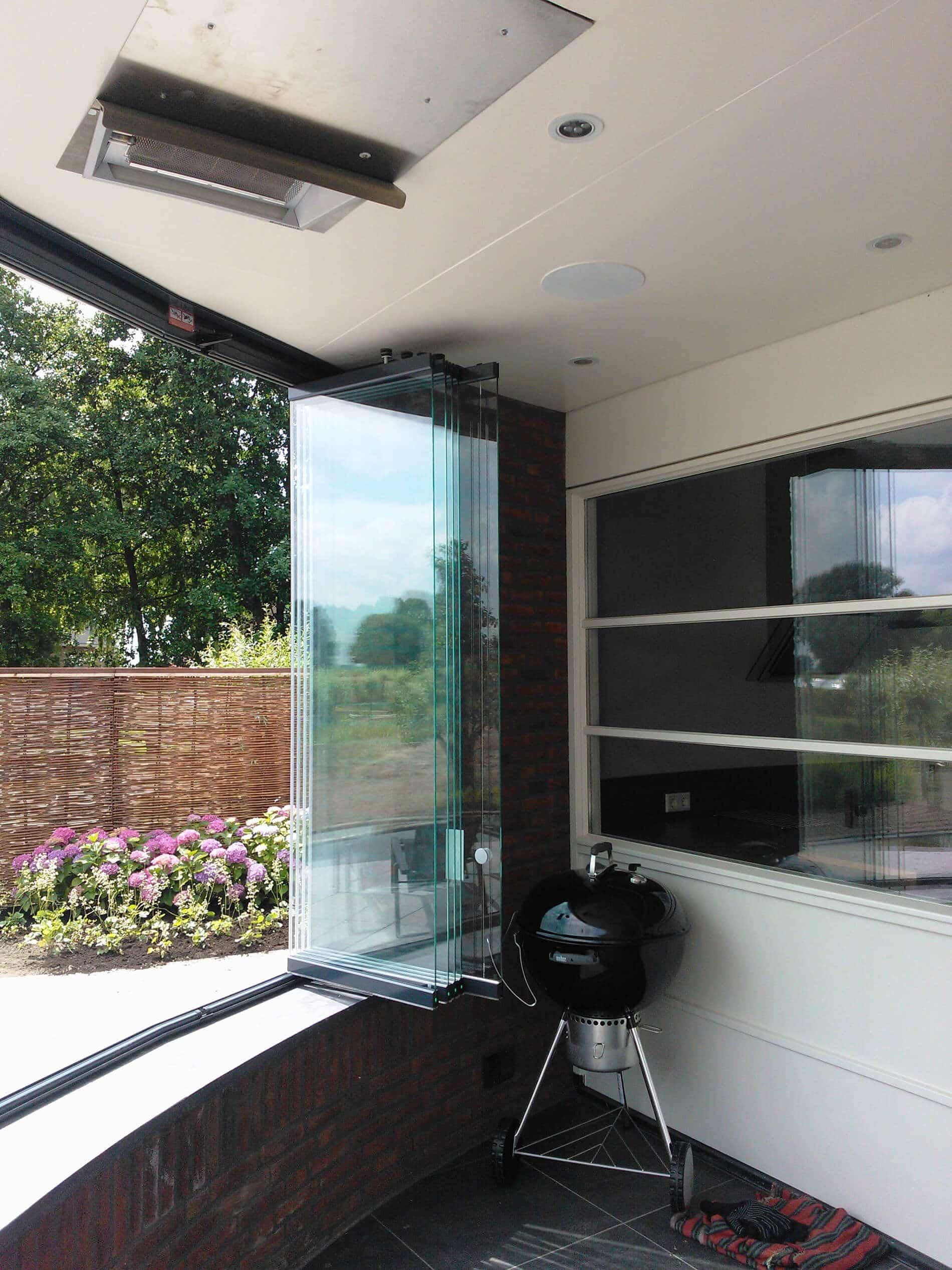 Schiebe-Dreh-Fenster für Verglasung Balkon