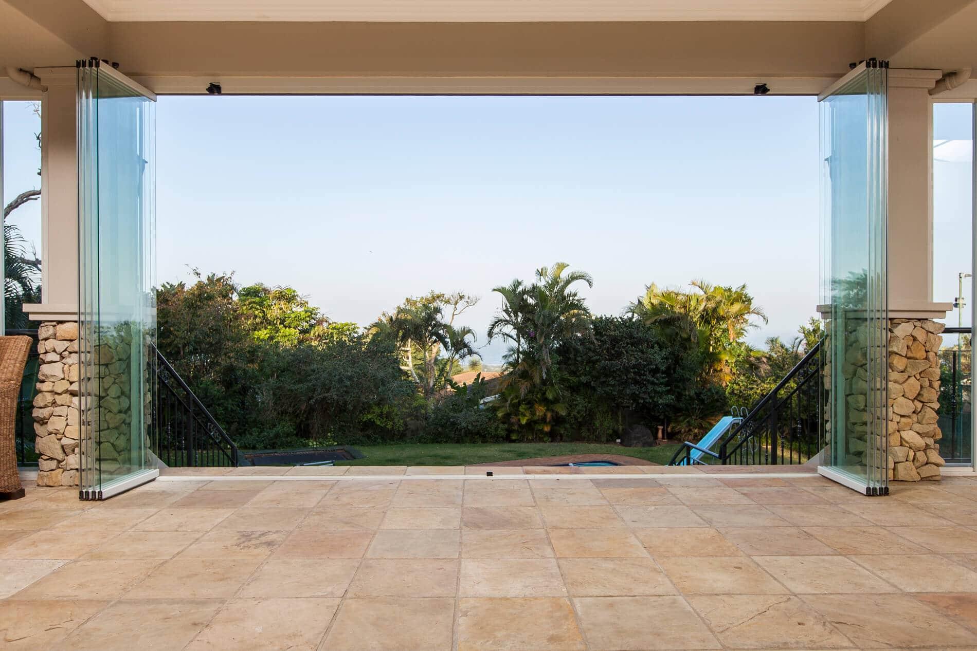 Schiebe-Dreh-Türen für Terrassenverglasung und Wintergarten
