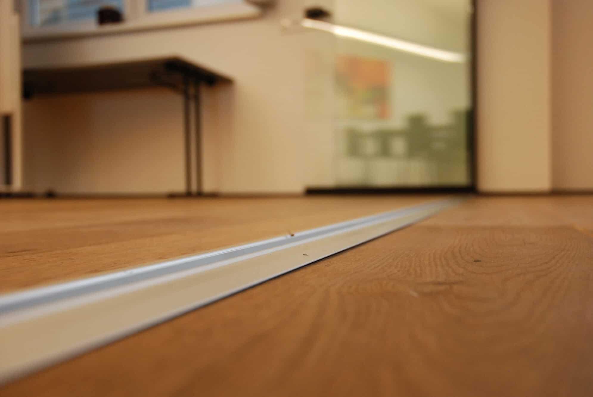 Schiebe-Dreh-Verglasung barrierefrei