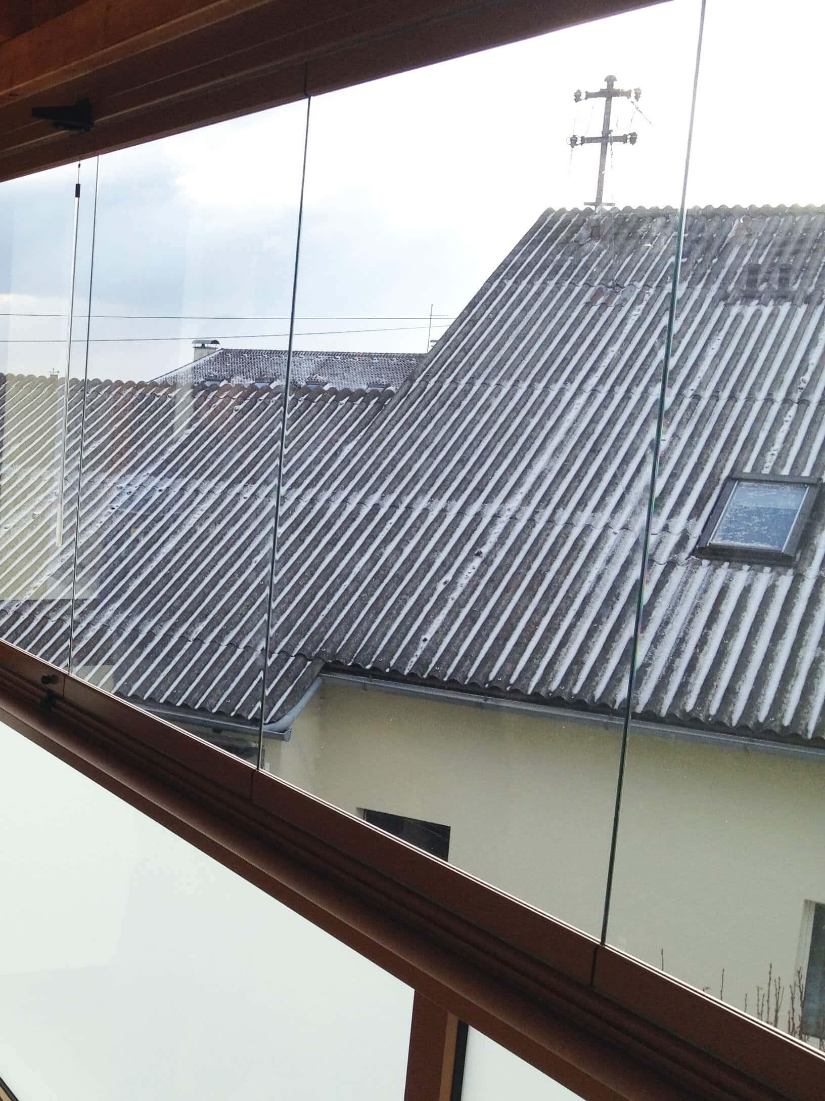Schiebe-Faltsysteme für Balkone