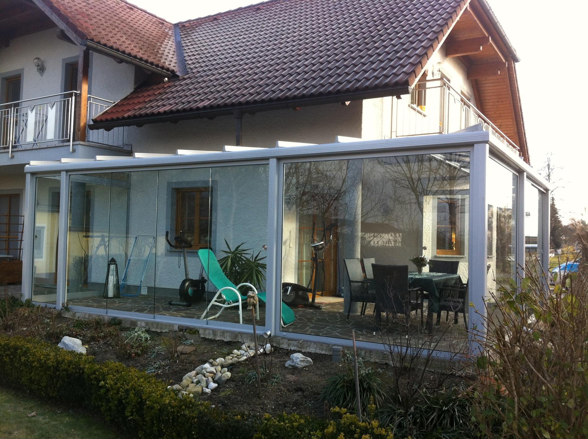Schiebe- und Faltschiebetüren Wintergarten