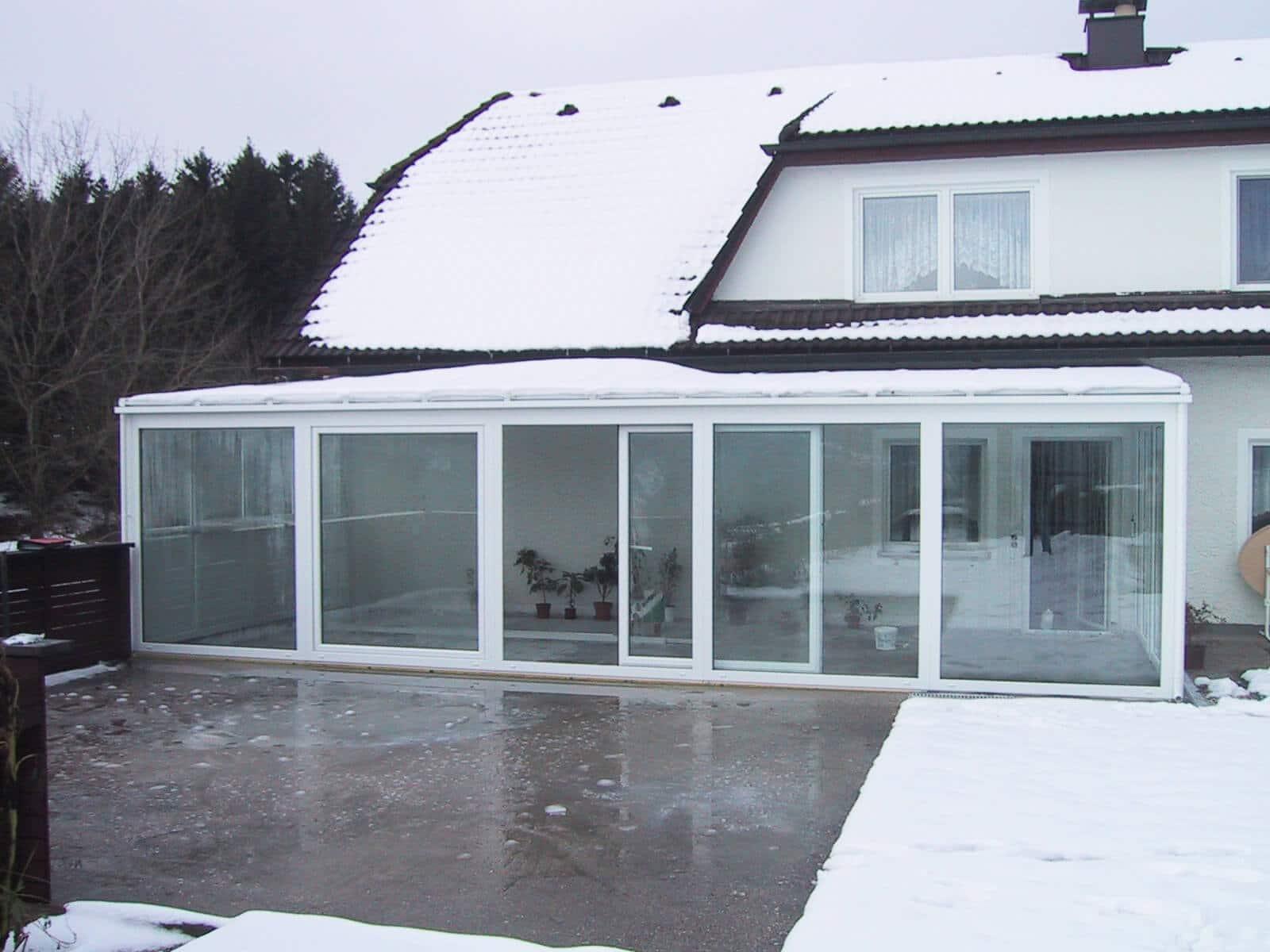 kleiner wintergarten terrasse beispiele f r winterg rten. Black Bedroom Furniture Sets. Home Design Ideas