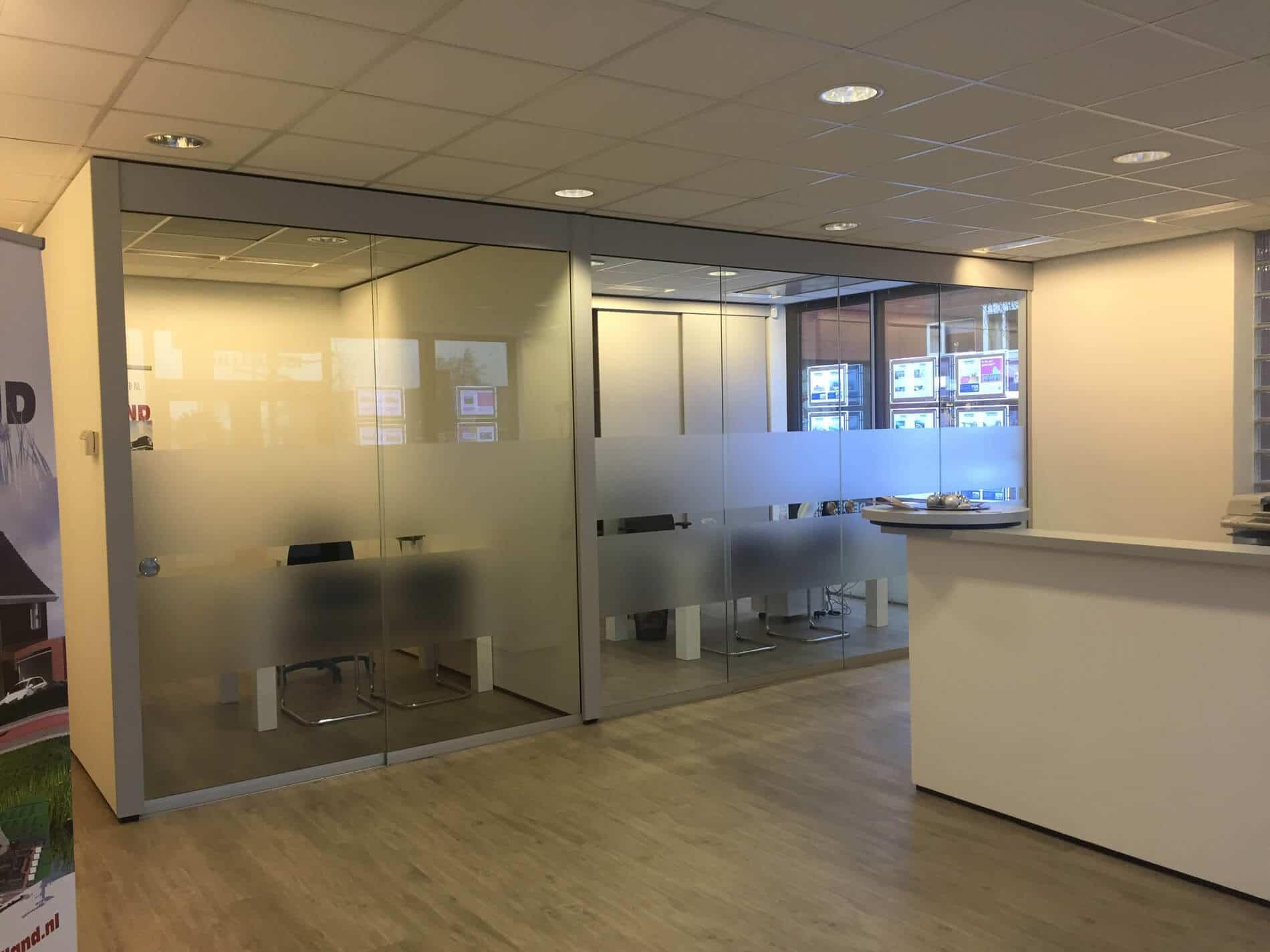 Schiebekonstruktion für Innenbereich - Trennwände Glas