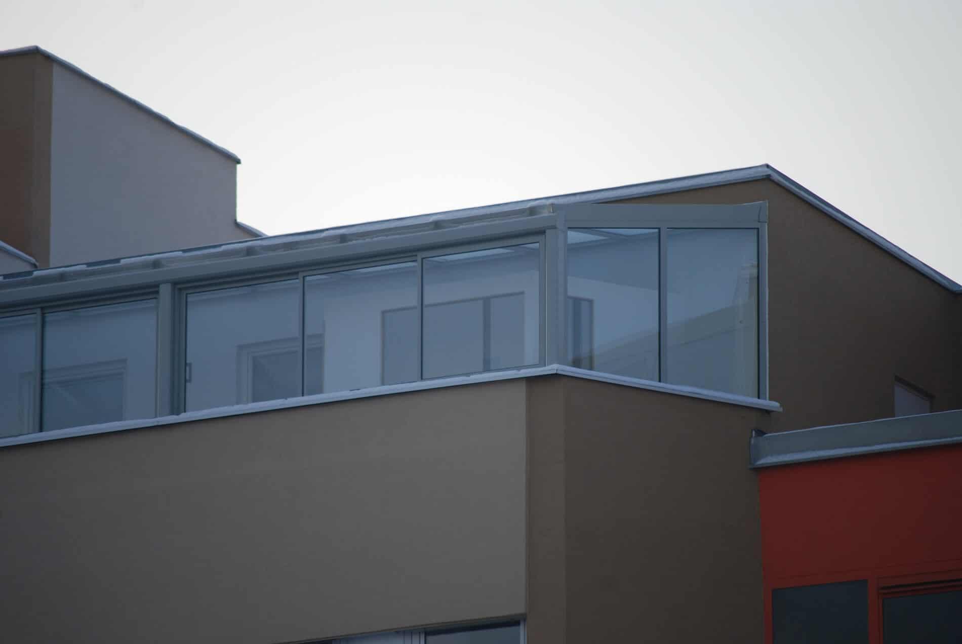 Schiebekonstruktion für Terrassen Wintergarten