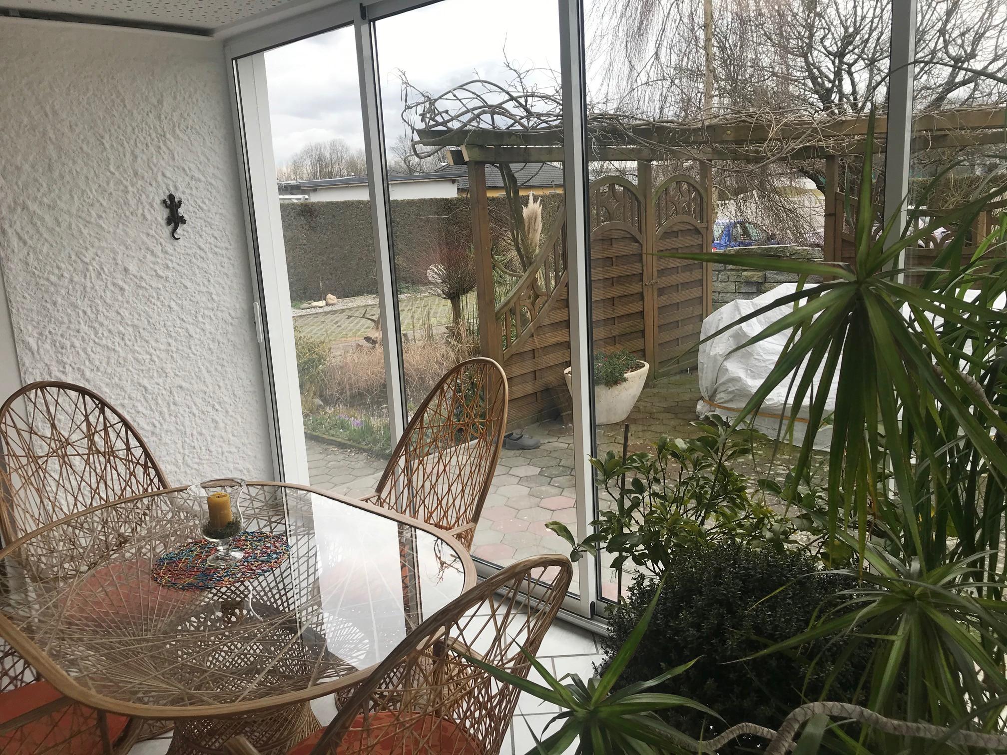 Schiebetüren außen Terrasse - Aluminium