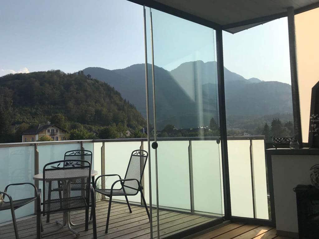 Schiebetüren für Terrassen mit ESG-H 10 mm Sicherheitsglas