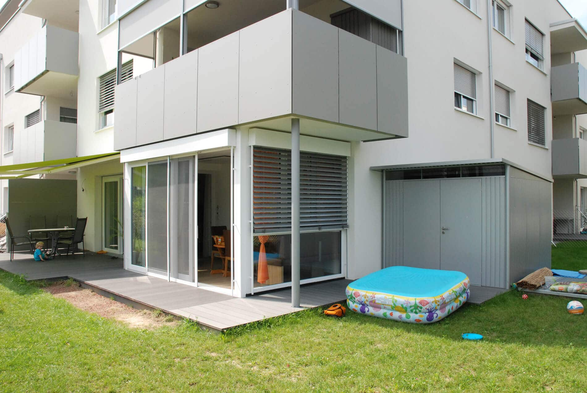 Schiebetüren Terrassenverbauten