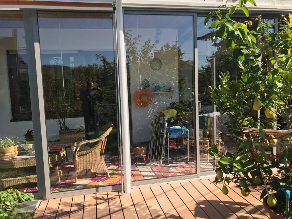 Schiebetürsysteme Terrassenverglasung