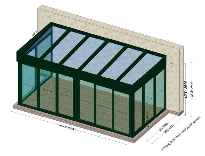 Sommergärten aus Glas - Österreich