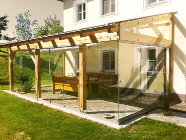 Sommergarten Sunflex Schiebetüren