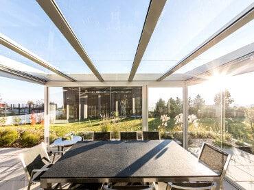 Sommergarten Glas