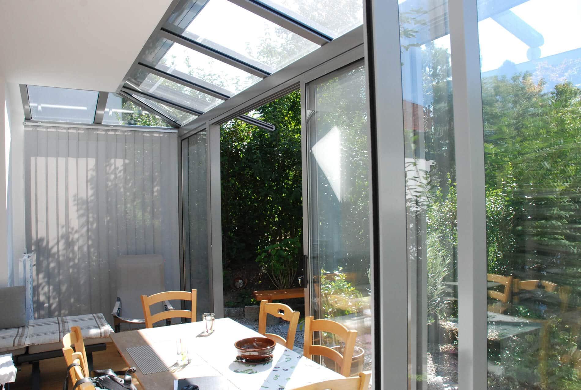 Sommergarten Glas Österreich