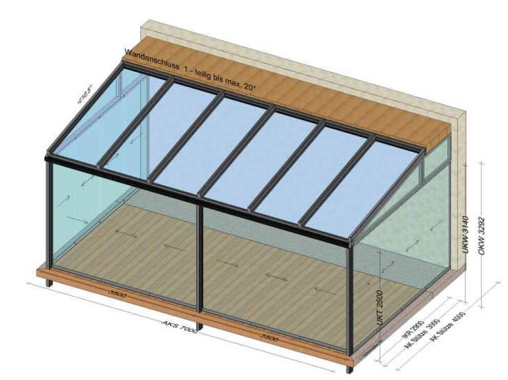 Sommergarten Glasschiebewand Planung & Beratung