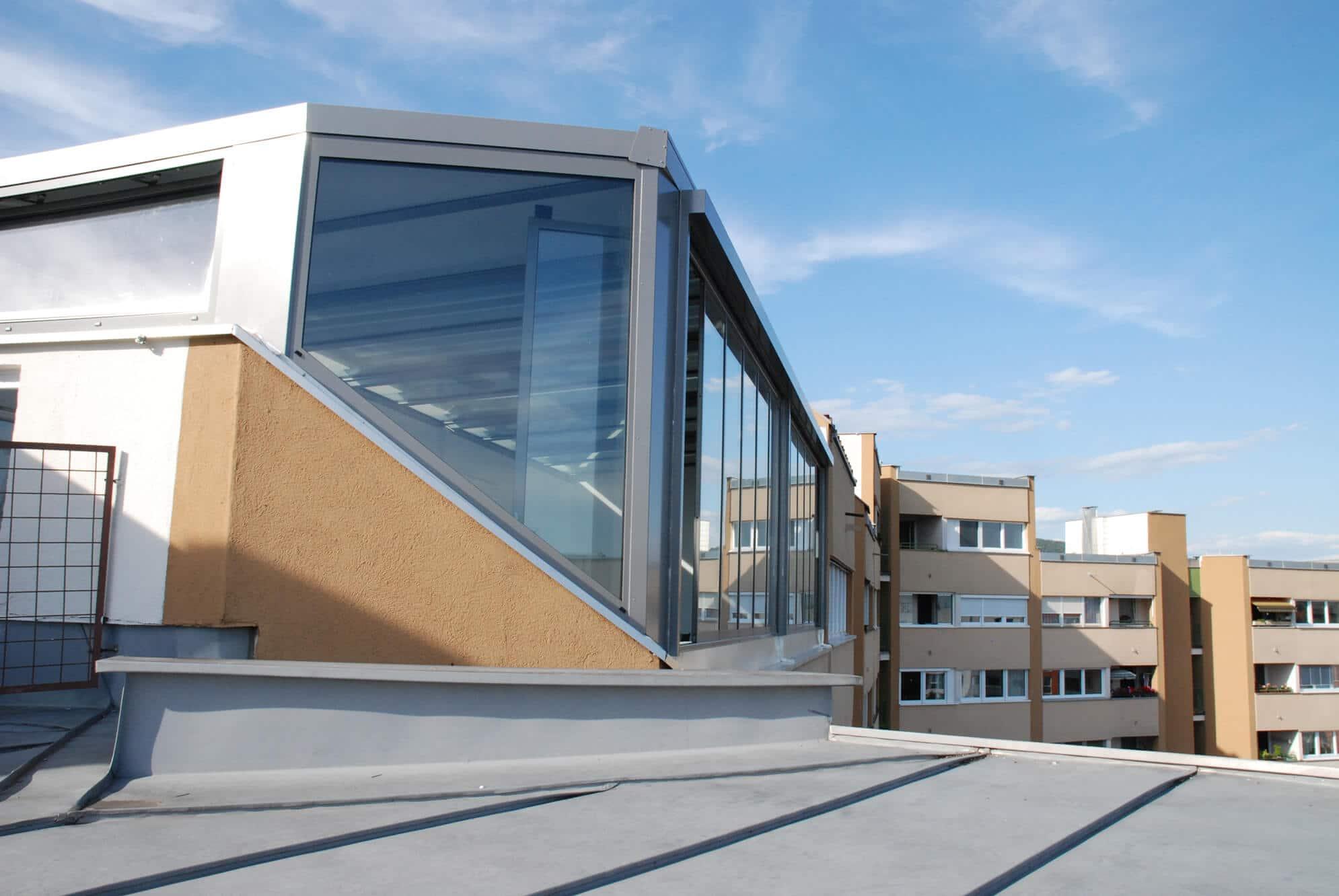 Sommergarten mit thermisch getrennten Dachsparrensystem und Isolierglas