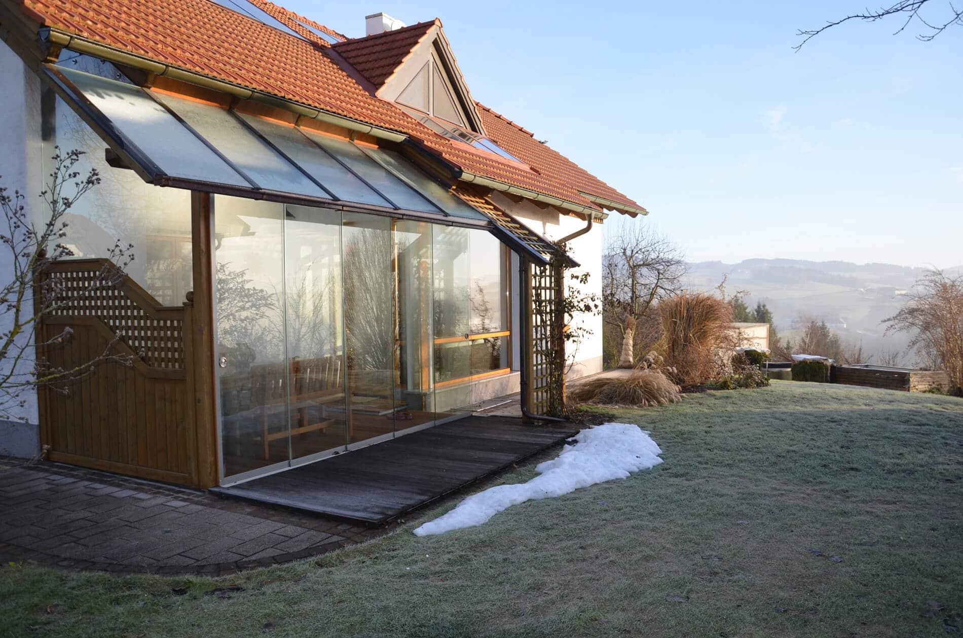 Sommergarten - preiswerter Wintergarten