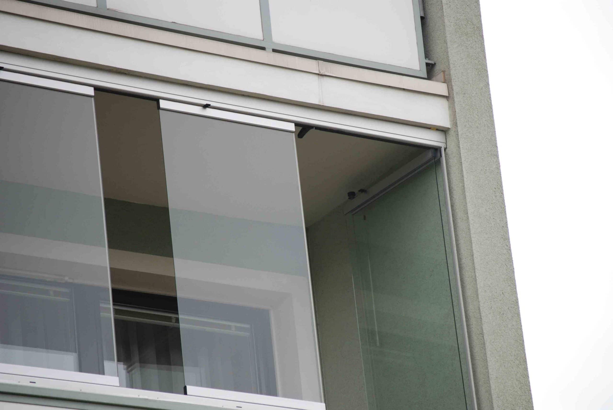 Sunflex Glas Faltwand Beispiel