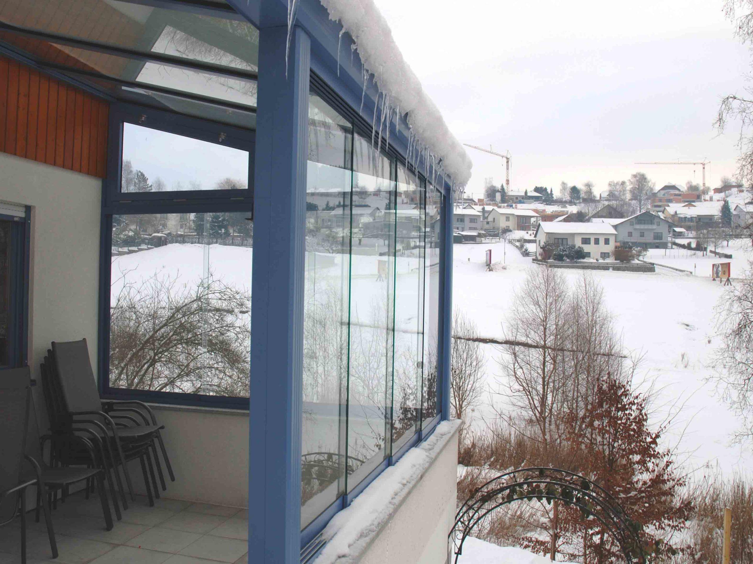 Sunflex Schiebe für Balkon