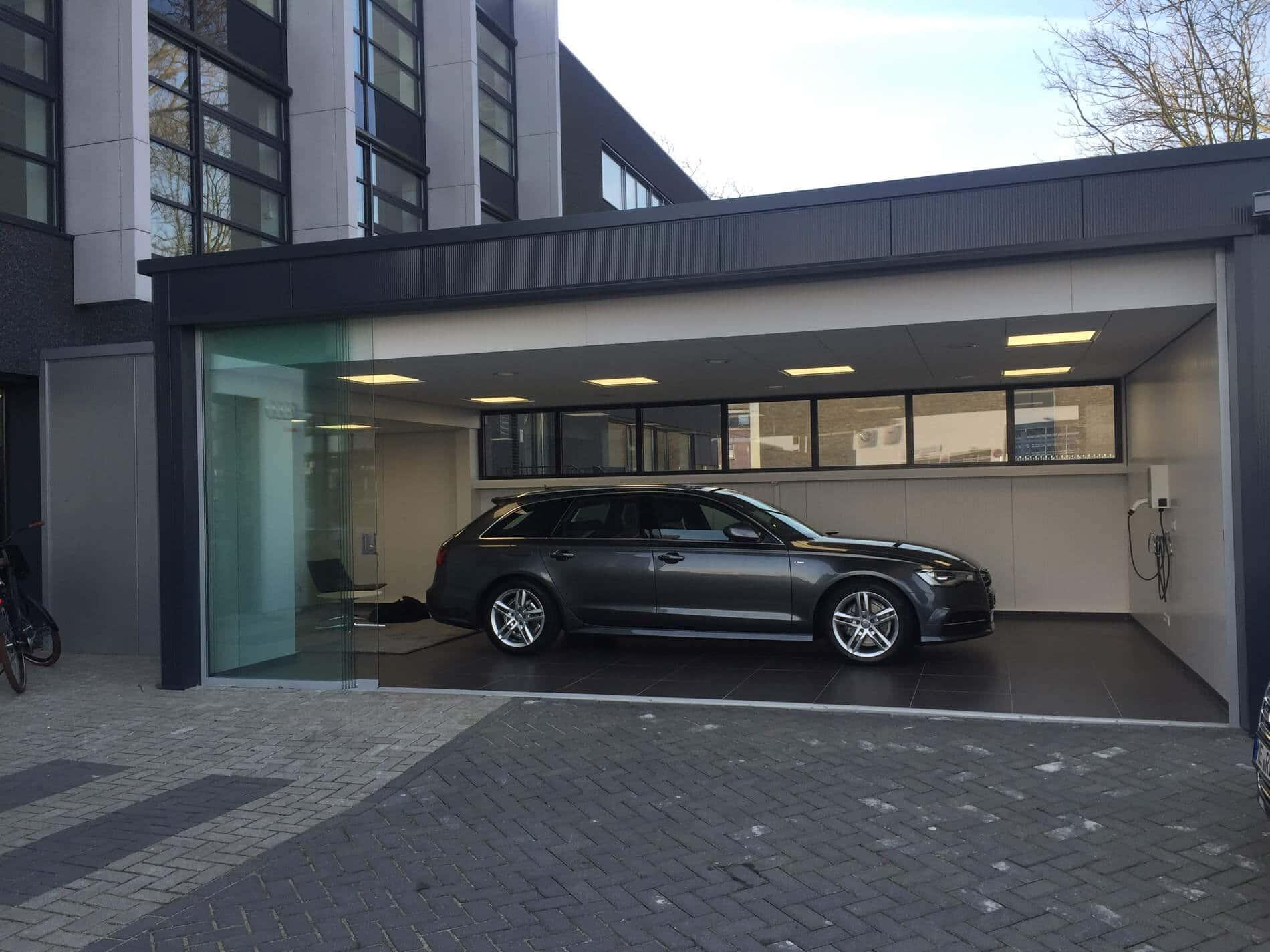 Sunflex Schiebefenster für Autogarage