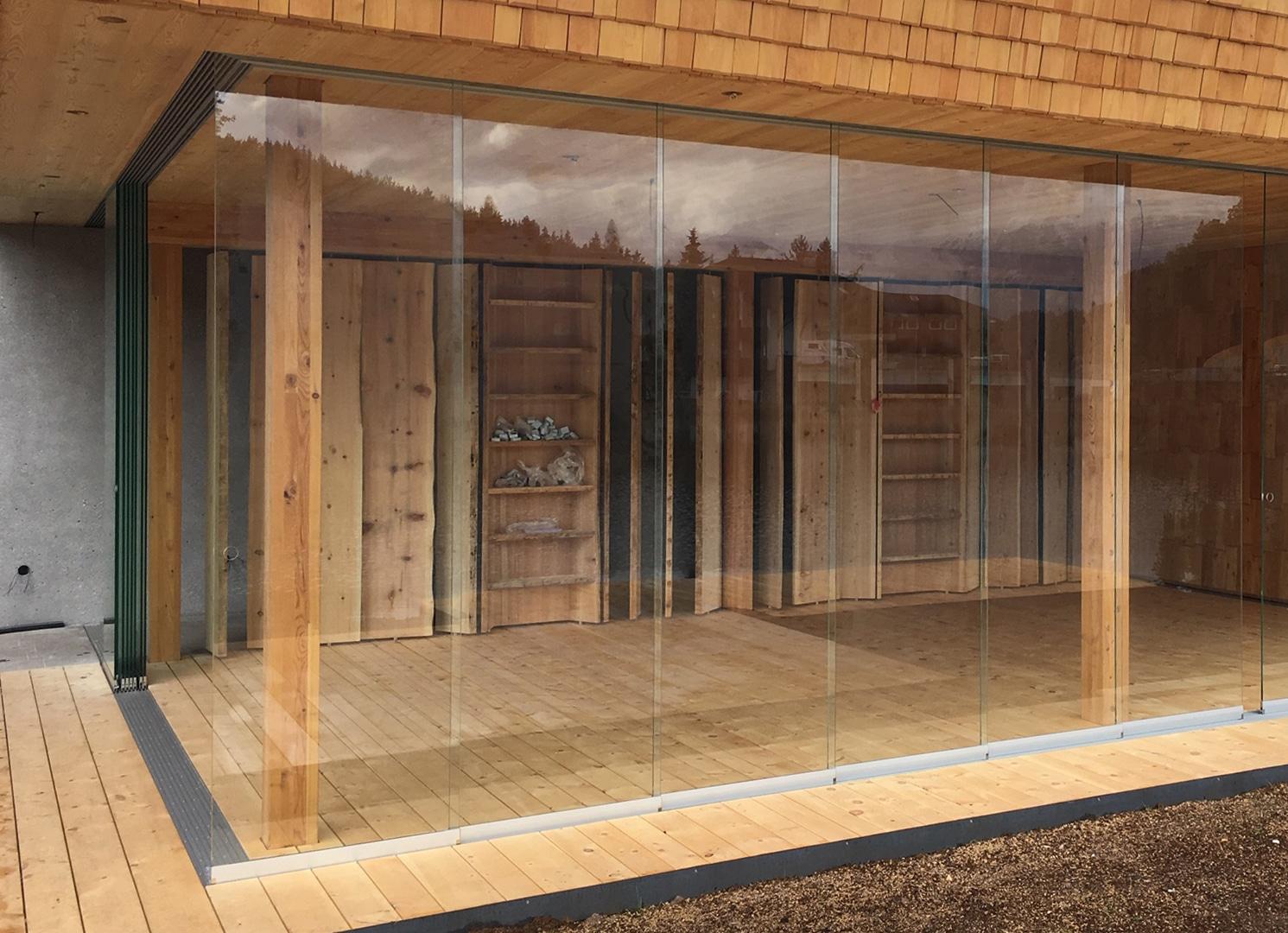 Sunflex Schiebesystem Terrasse