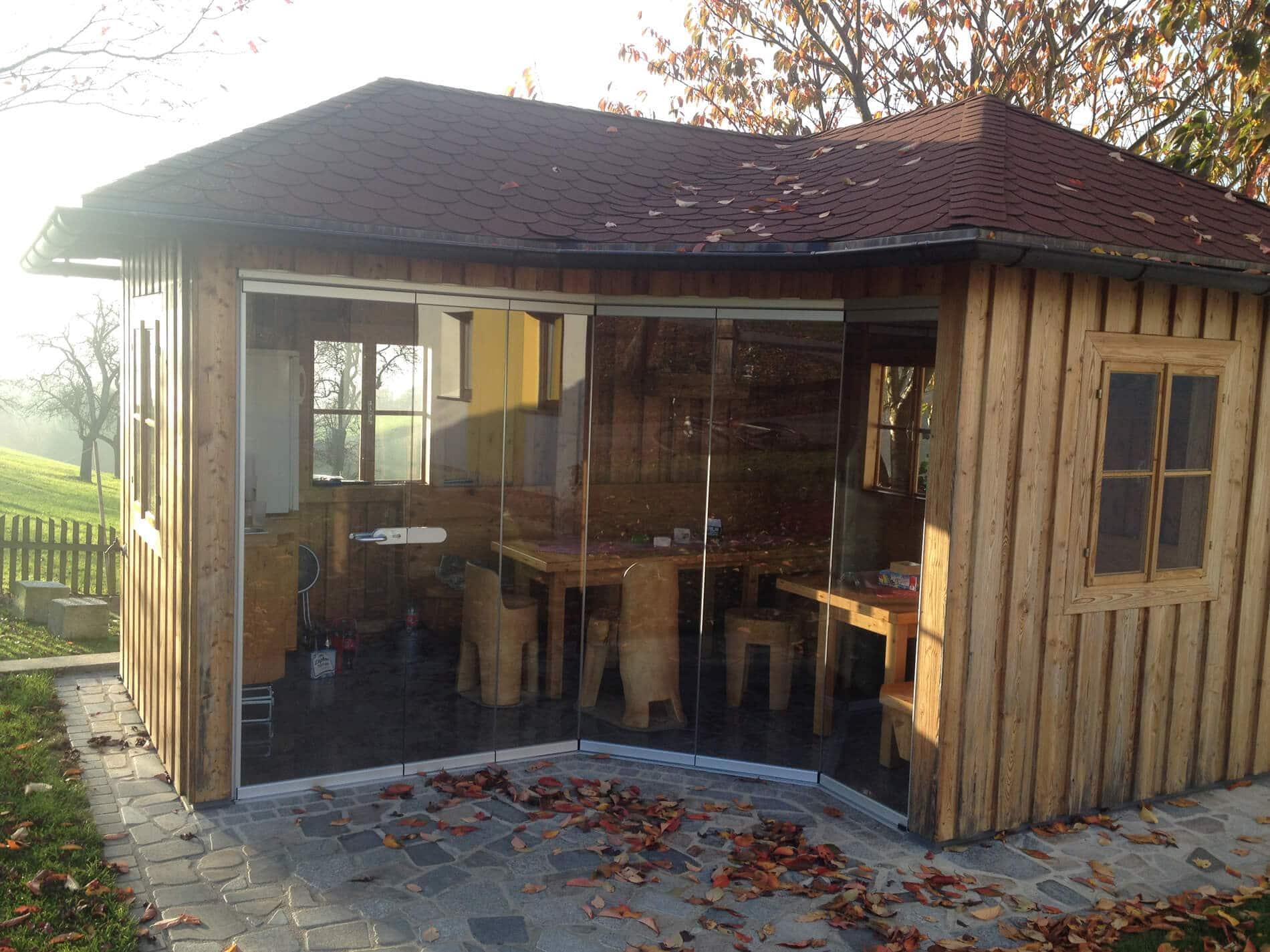 Sunflex SF25 Holzhütte