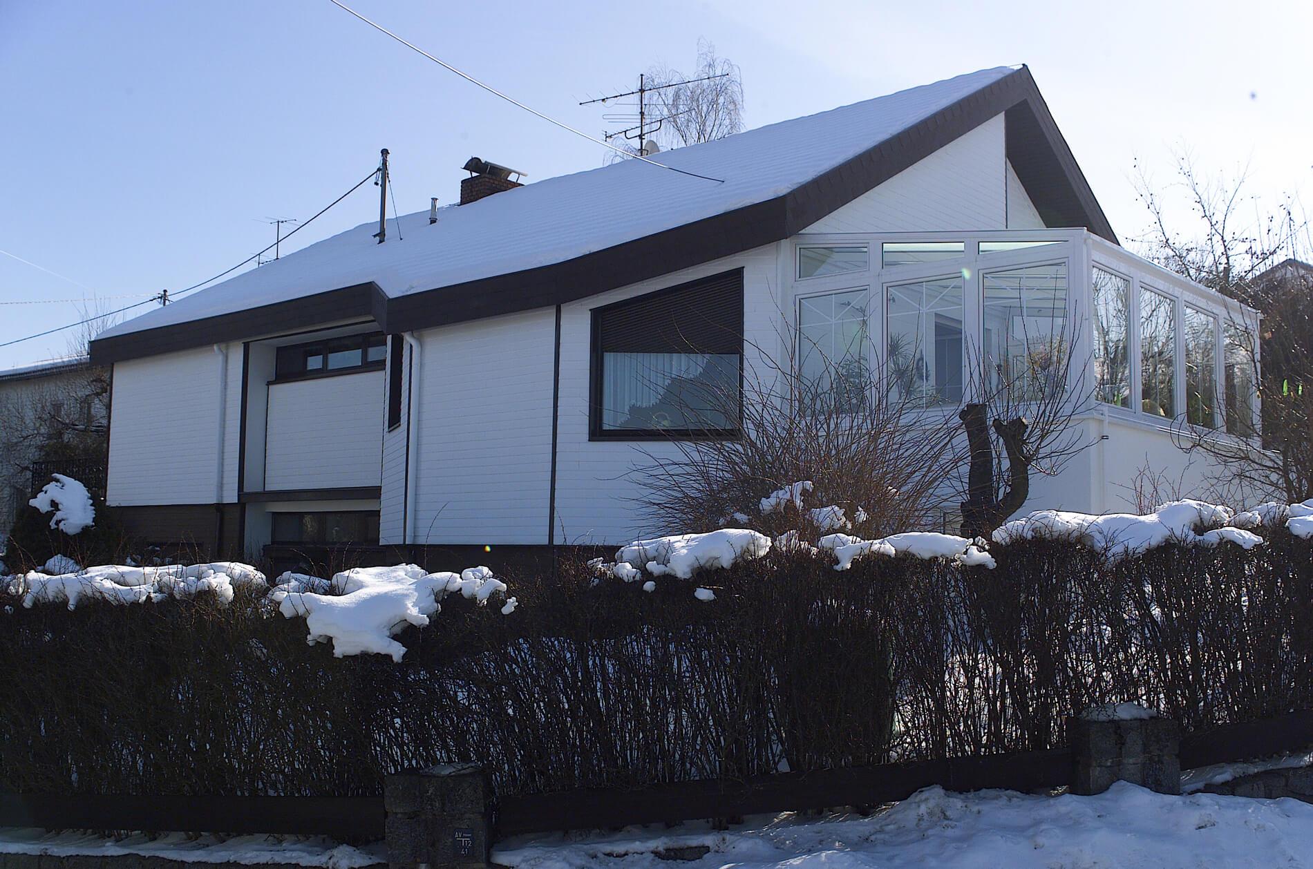 Terrasse mit Wintergarten verbauen