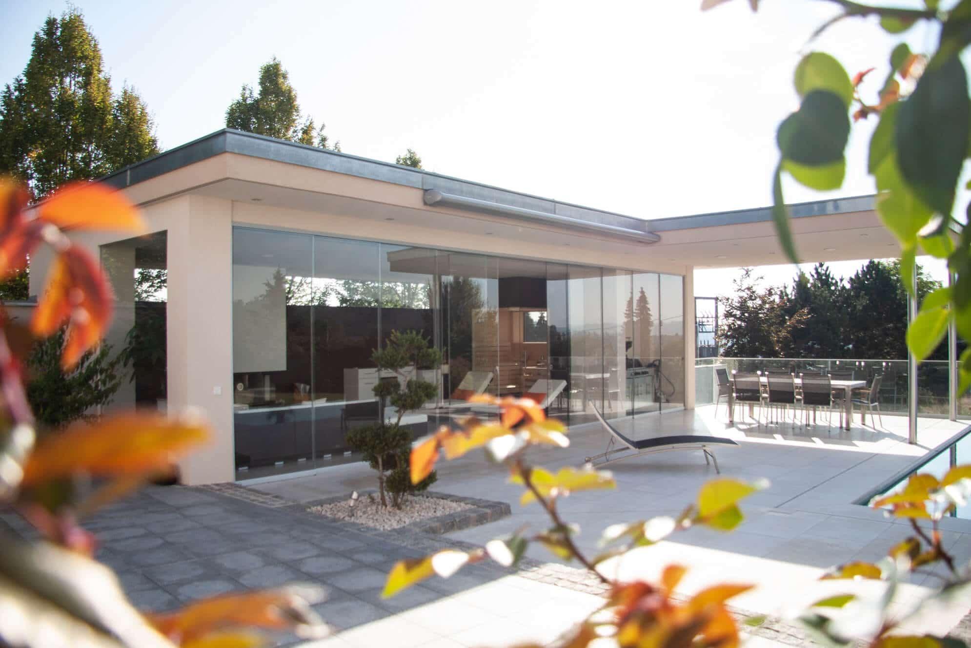 sunflex glasschiebewand f r wintergarten wintergarten schmidinger. Black Bedroom Furniture Sets. Home Design Ideas