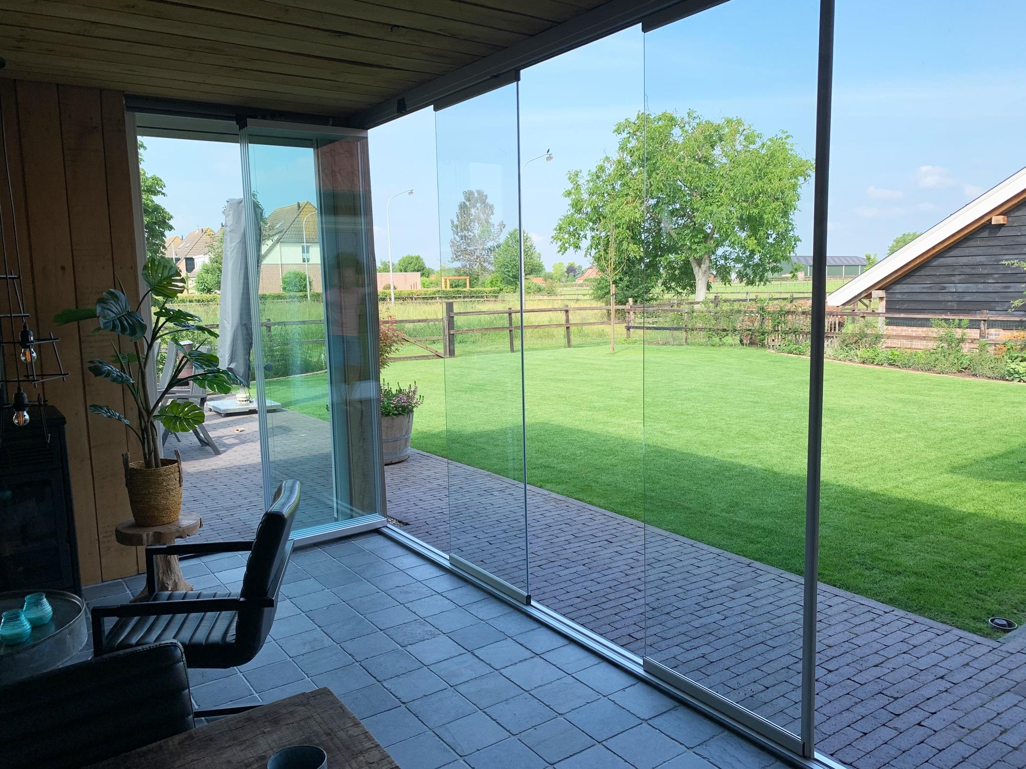 Terrasse zu Sommerwohnzimmer umbauen