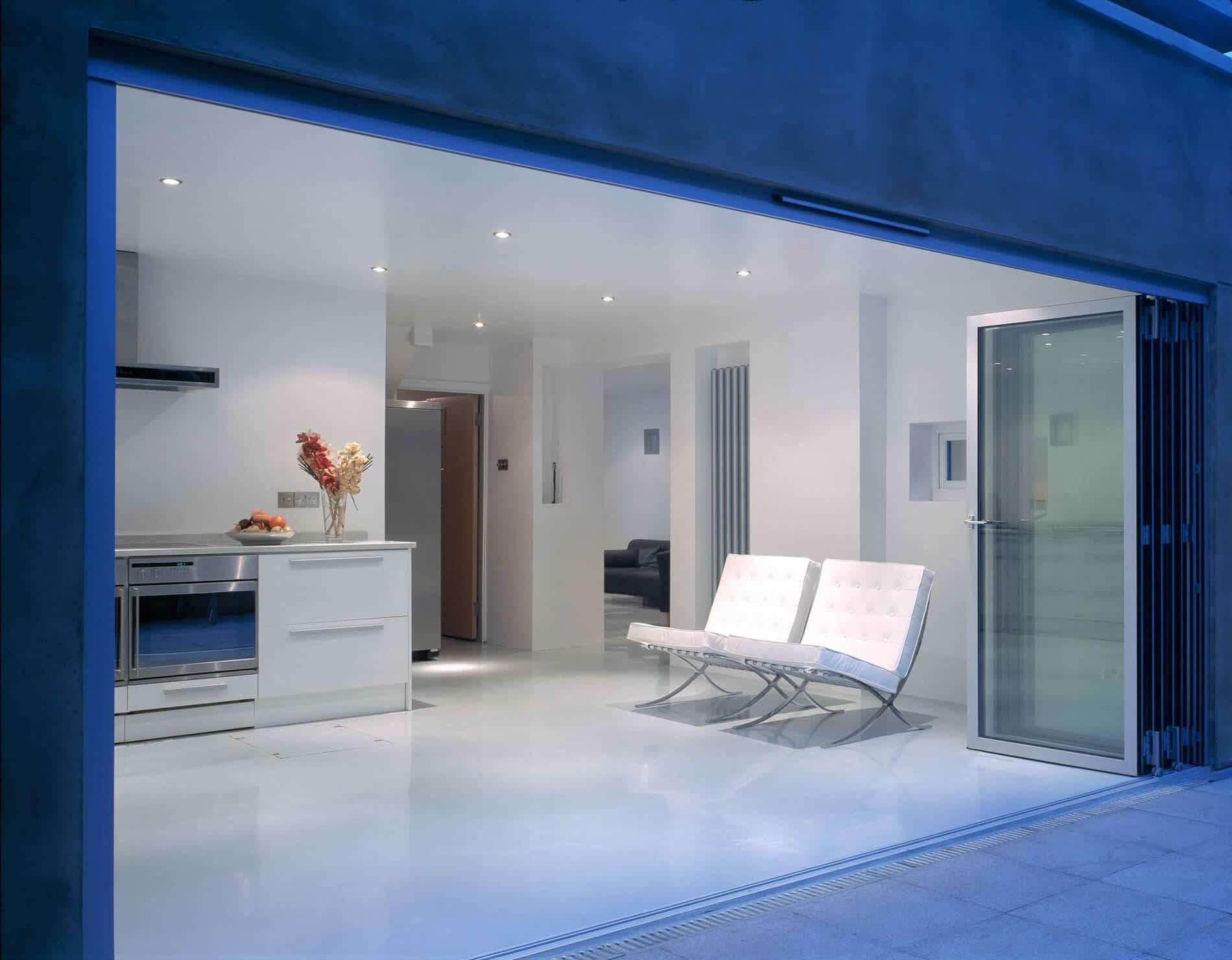 terrassen berdachung mit glasschiebewand komfort auf. Black Bedroom Furniture Sets. Home Design Ideas
