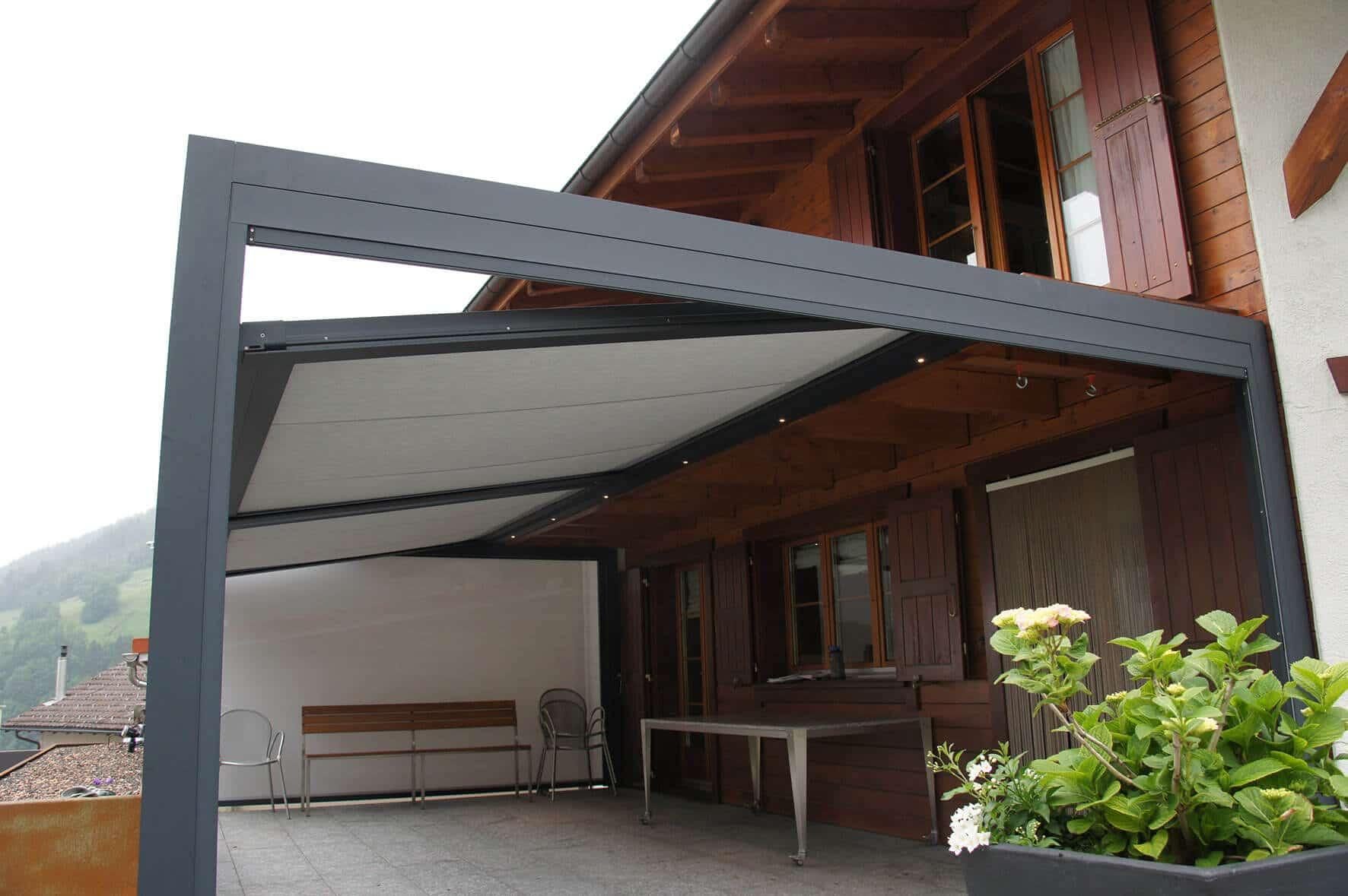 Terrassen Sonnenschutz Überdachung