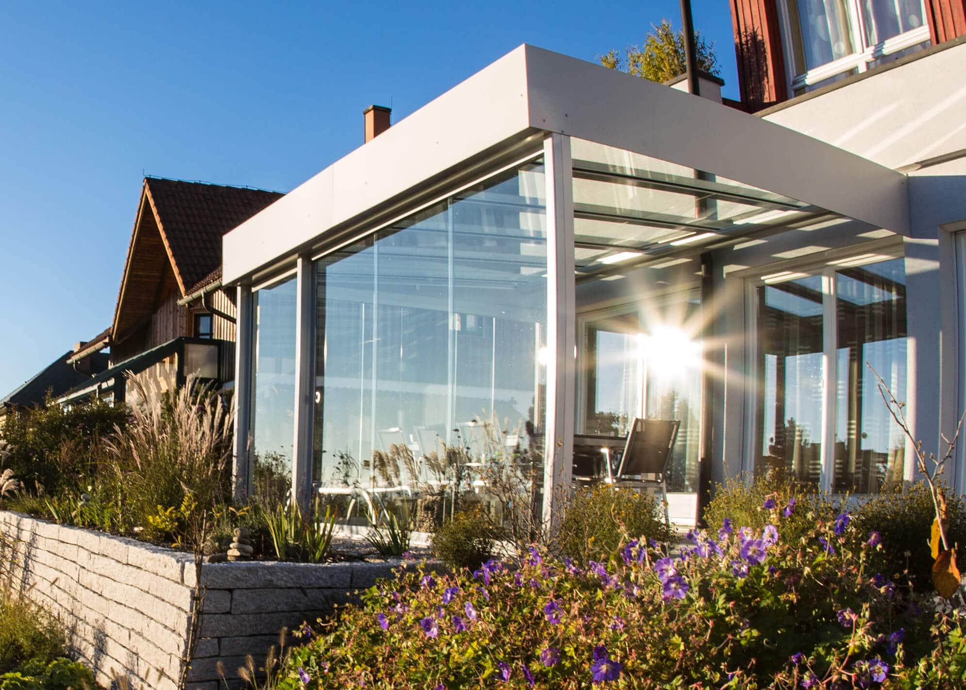 Terrassen Wintergärten Glas