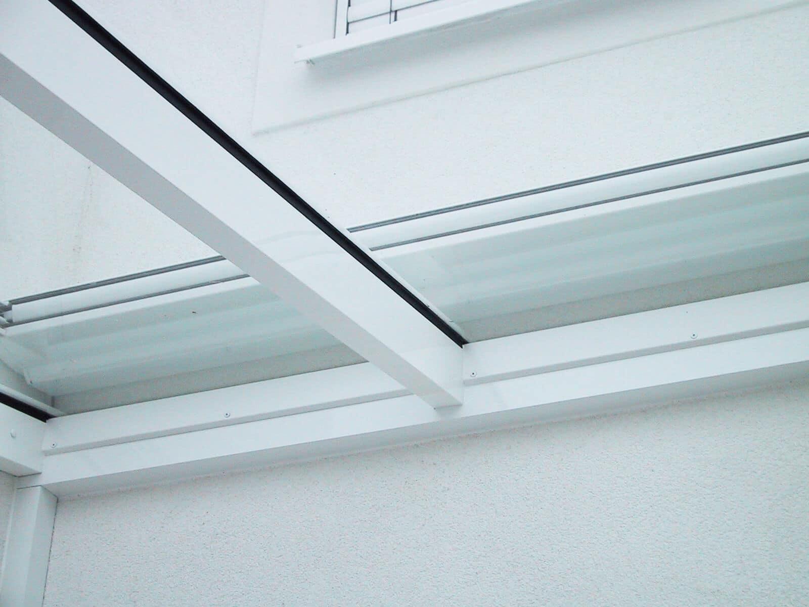 Terrassendach Schmidinger Glas Alu-Sparren Beschattung