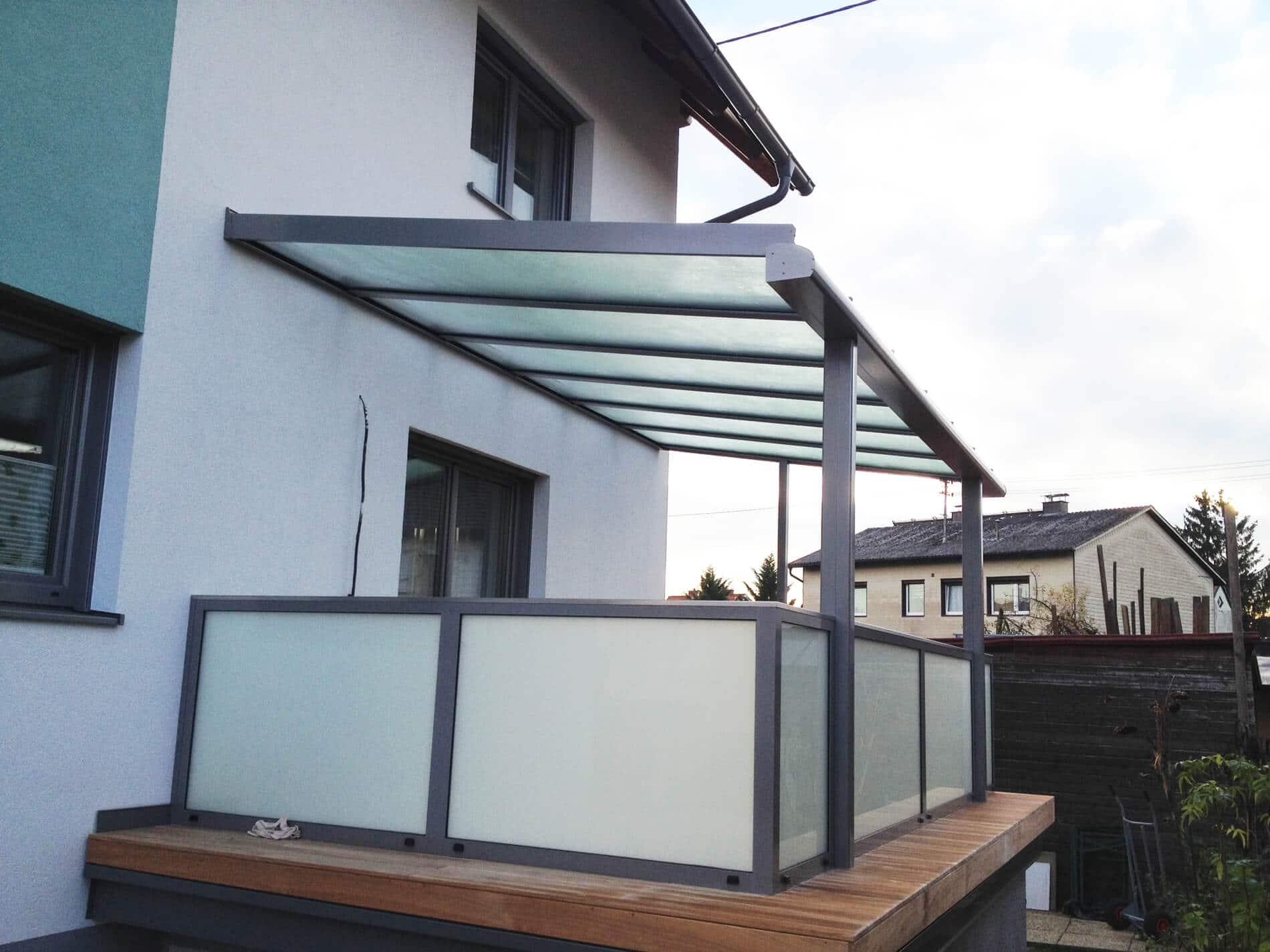 Terrassendächer Alu Glas Oberösterreich