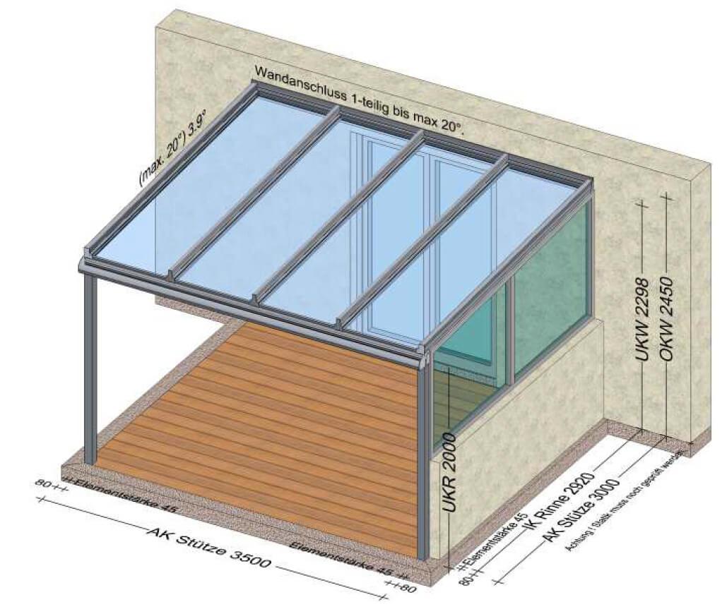 Terrassendächer nach Maß