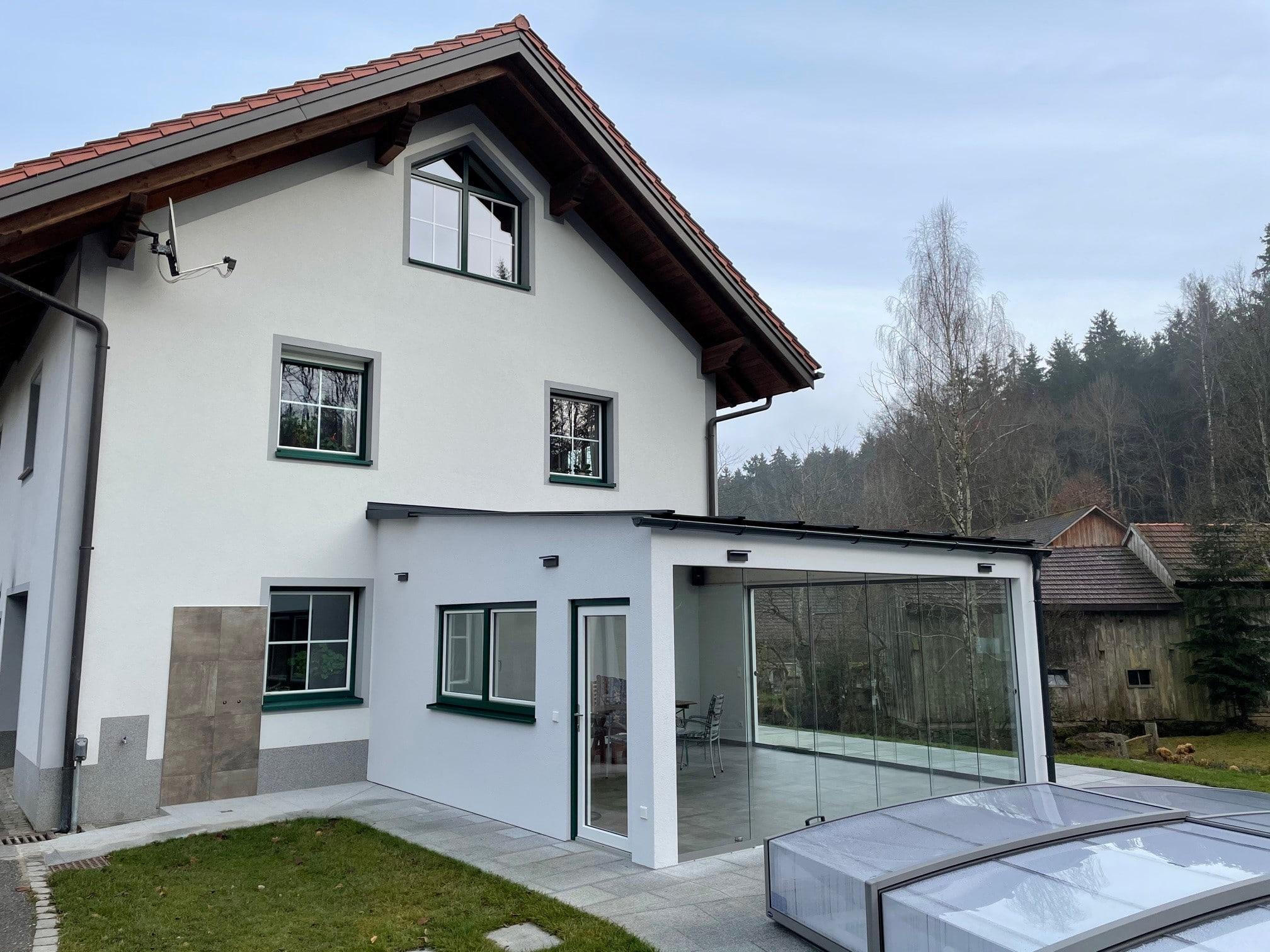 Terrassenfenster für Anbau nach Maß
