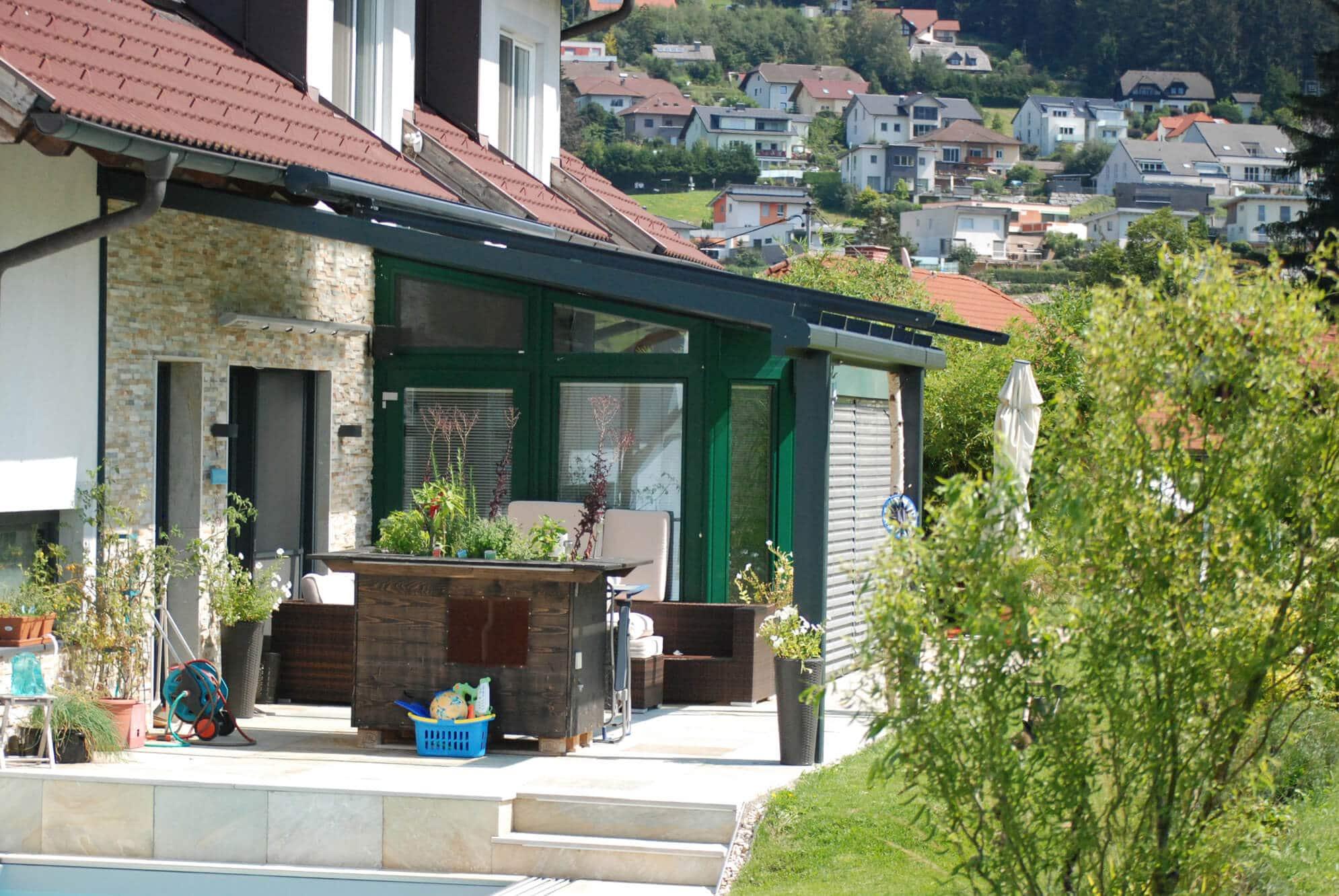 Terrassenüberdachung anthrazit Preise