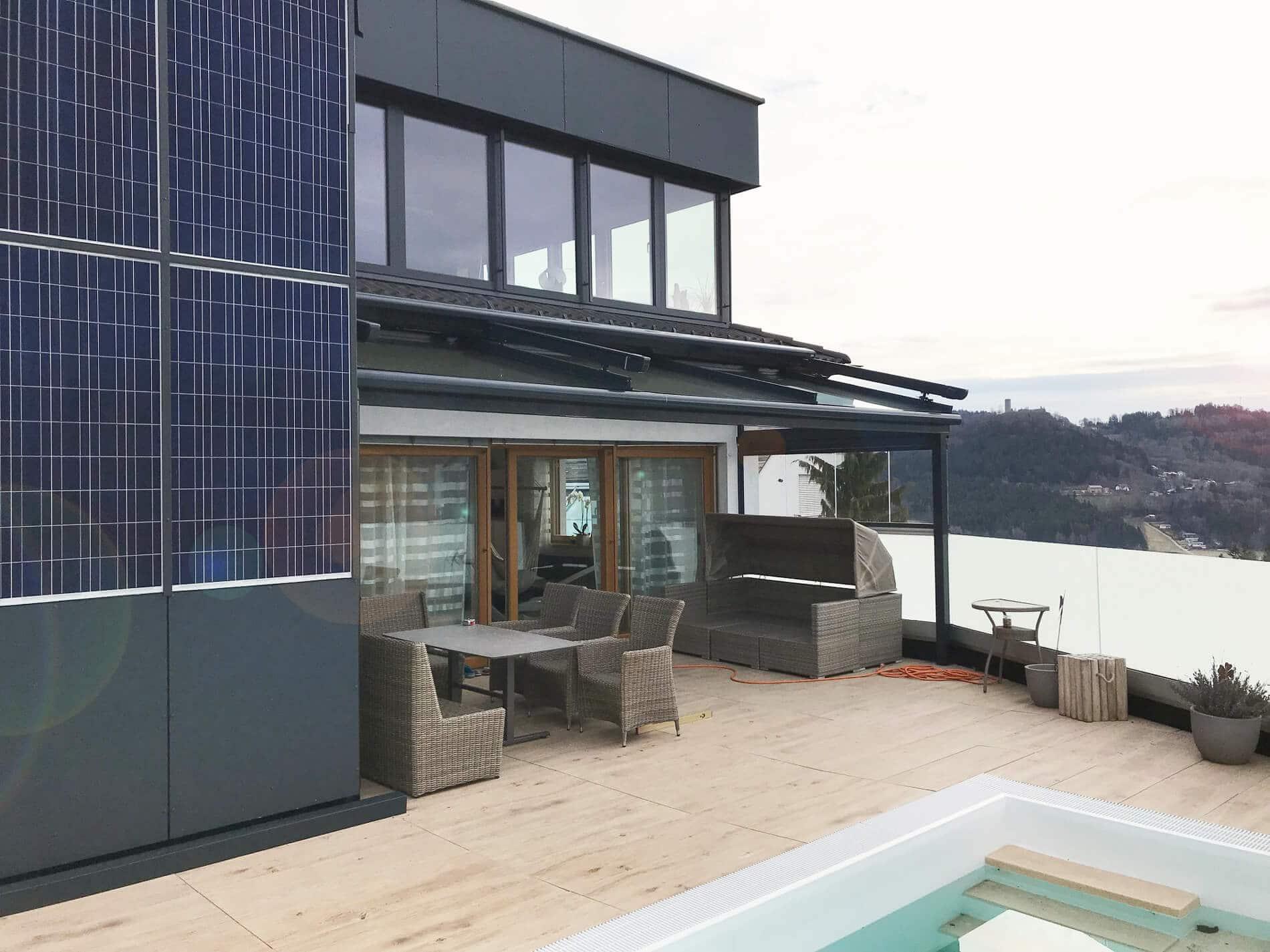 Terrassenüberdachung Glas nach Maßanfertigung