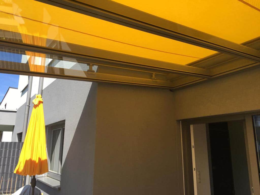 Terrassenüberdachung in Ried im Traunkreis