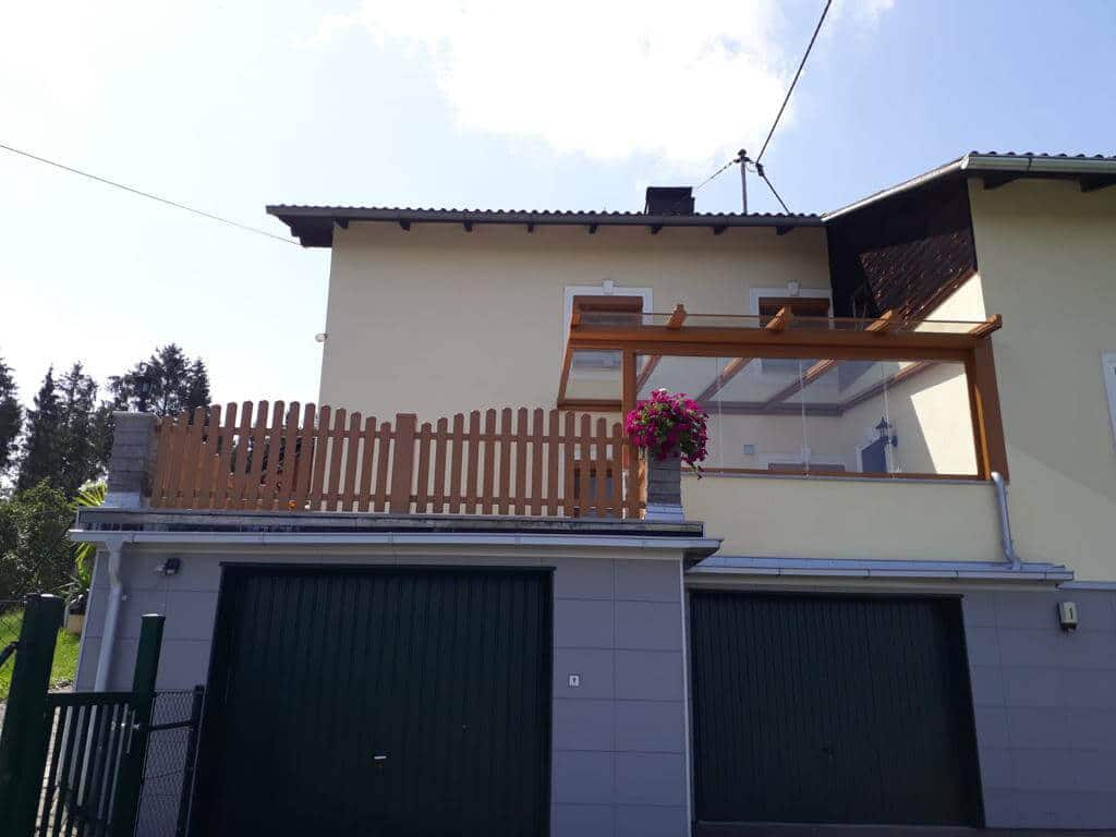 Terrassenüberdachung in Ried in der Riedmark