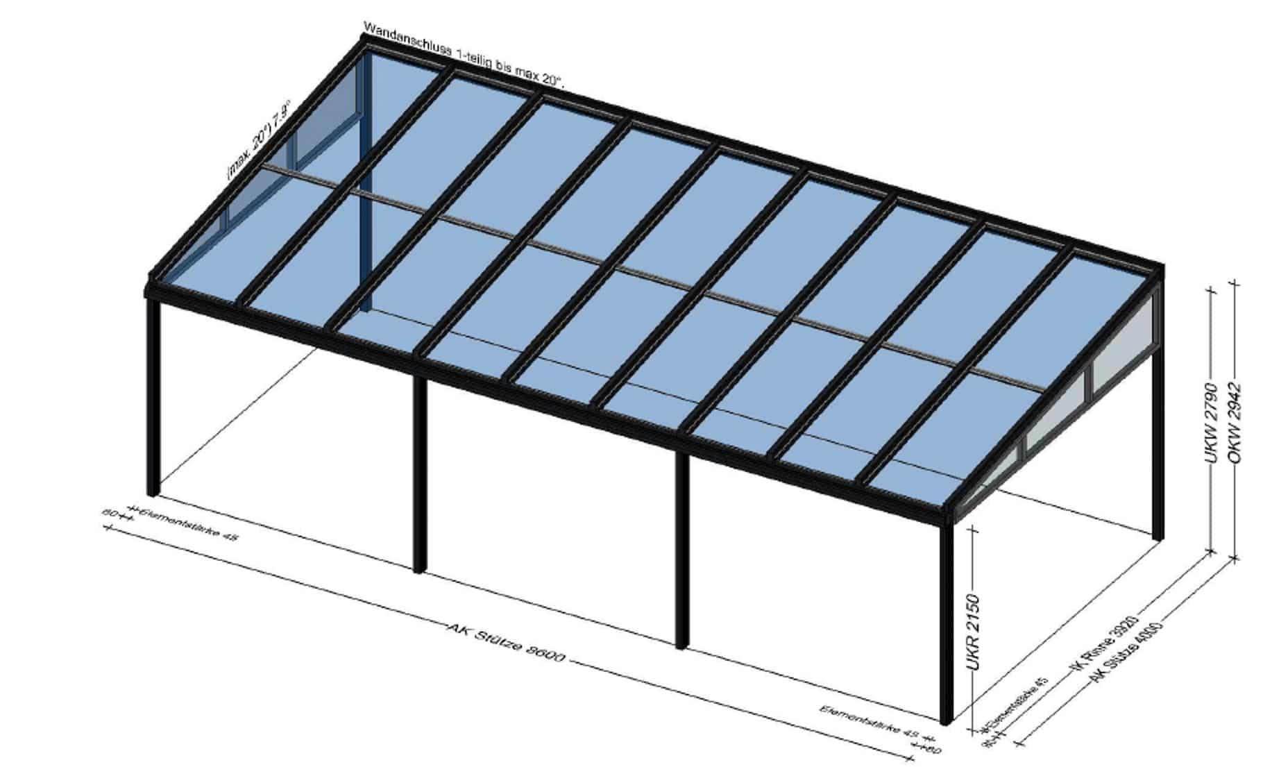 Terrassenüberdachung Planung in Oberösterreich