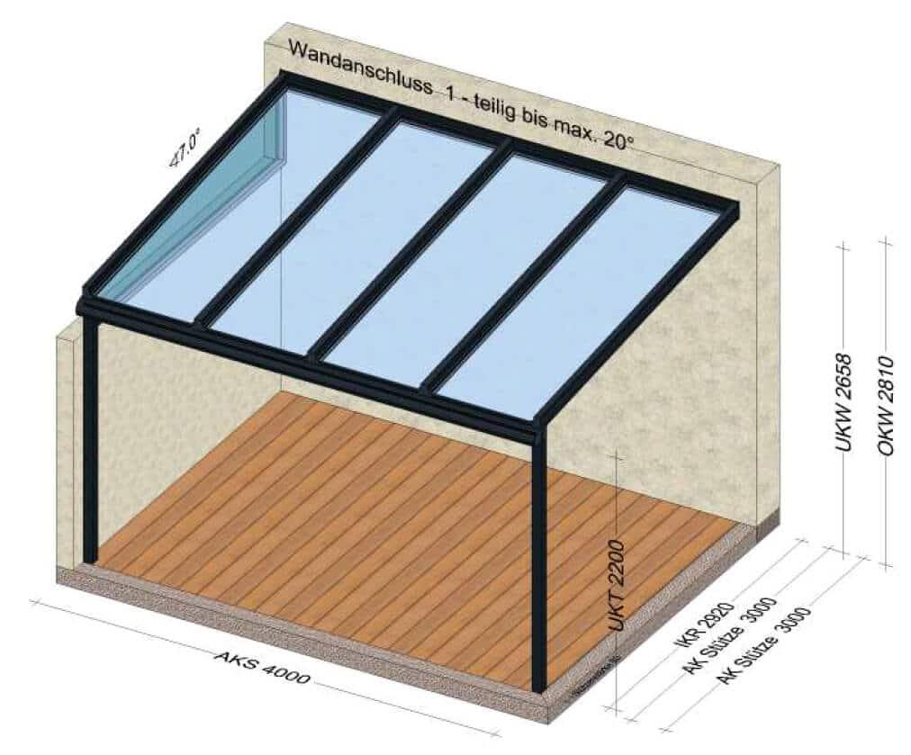 Terrassenüberdachung Planung vom Hersteller