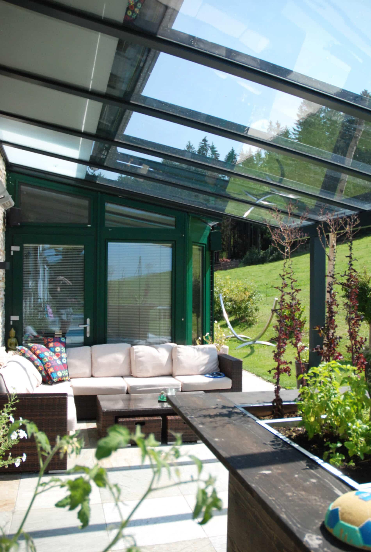 Terrassenüberdachung Terrassendächer Alu Glas