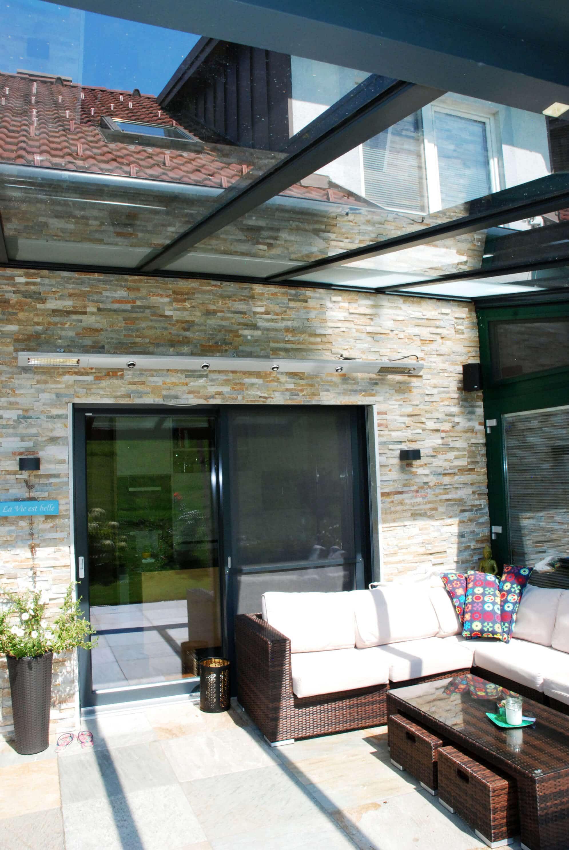 Terrassenüberdachungen aus hochwertigen Aluminium