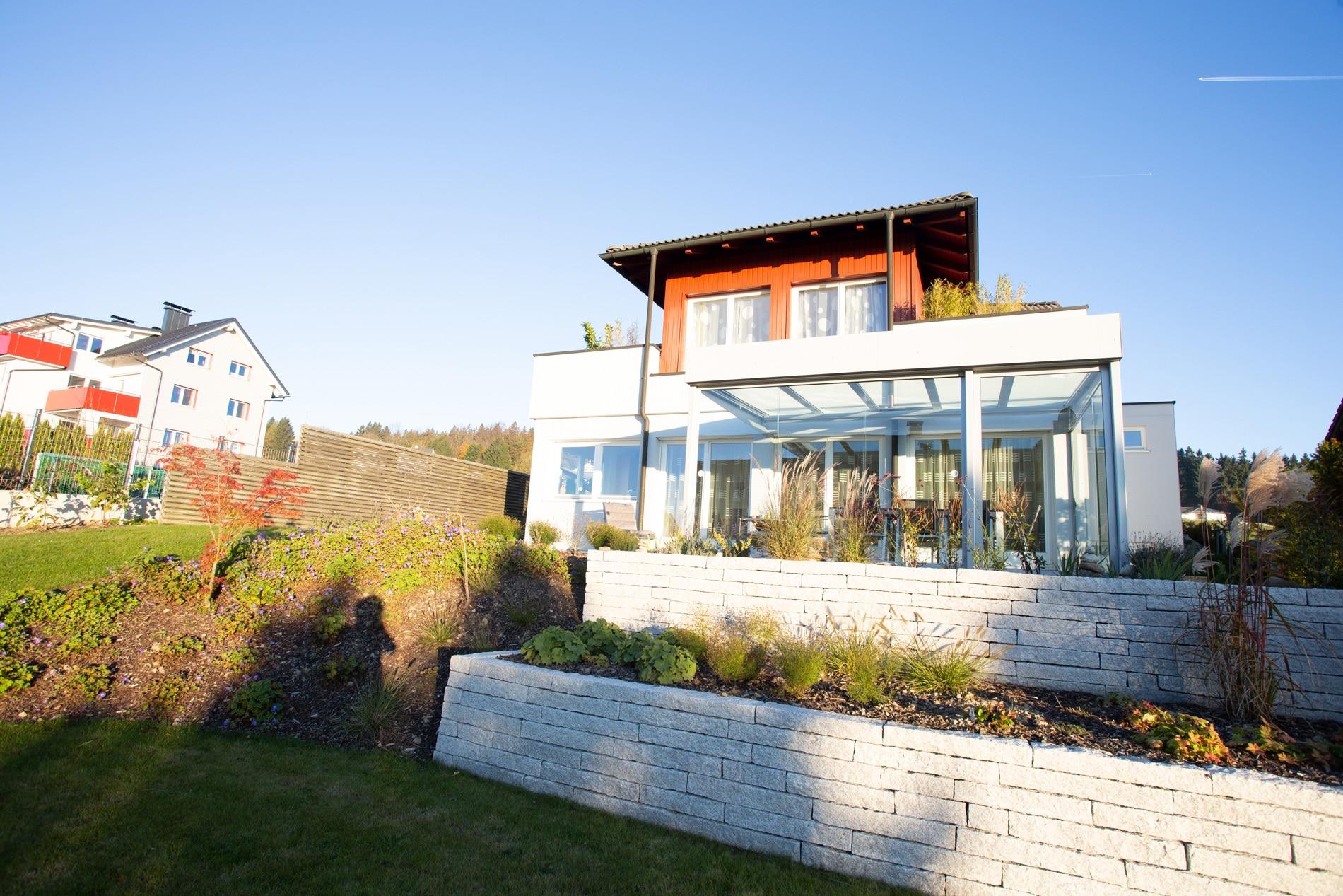 Terrassenüberdachungen mit seitlichen Schiebetüren in 4202 Kirchschlag