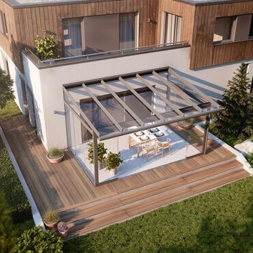 Terrassenüberdachungen sind hoch im Kurs