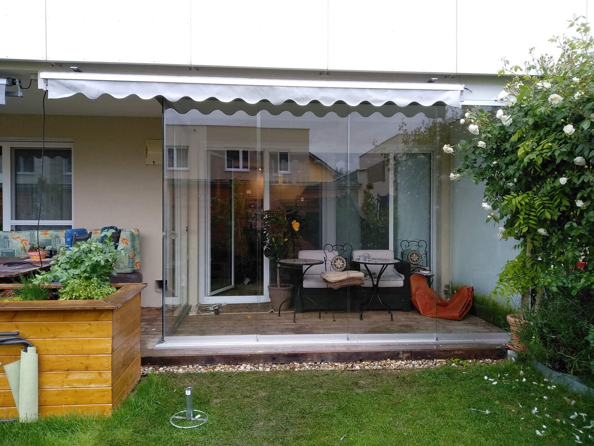 Terrassenverbau Ganzglas-Systeme