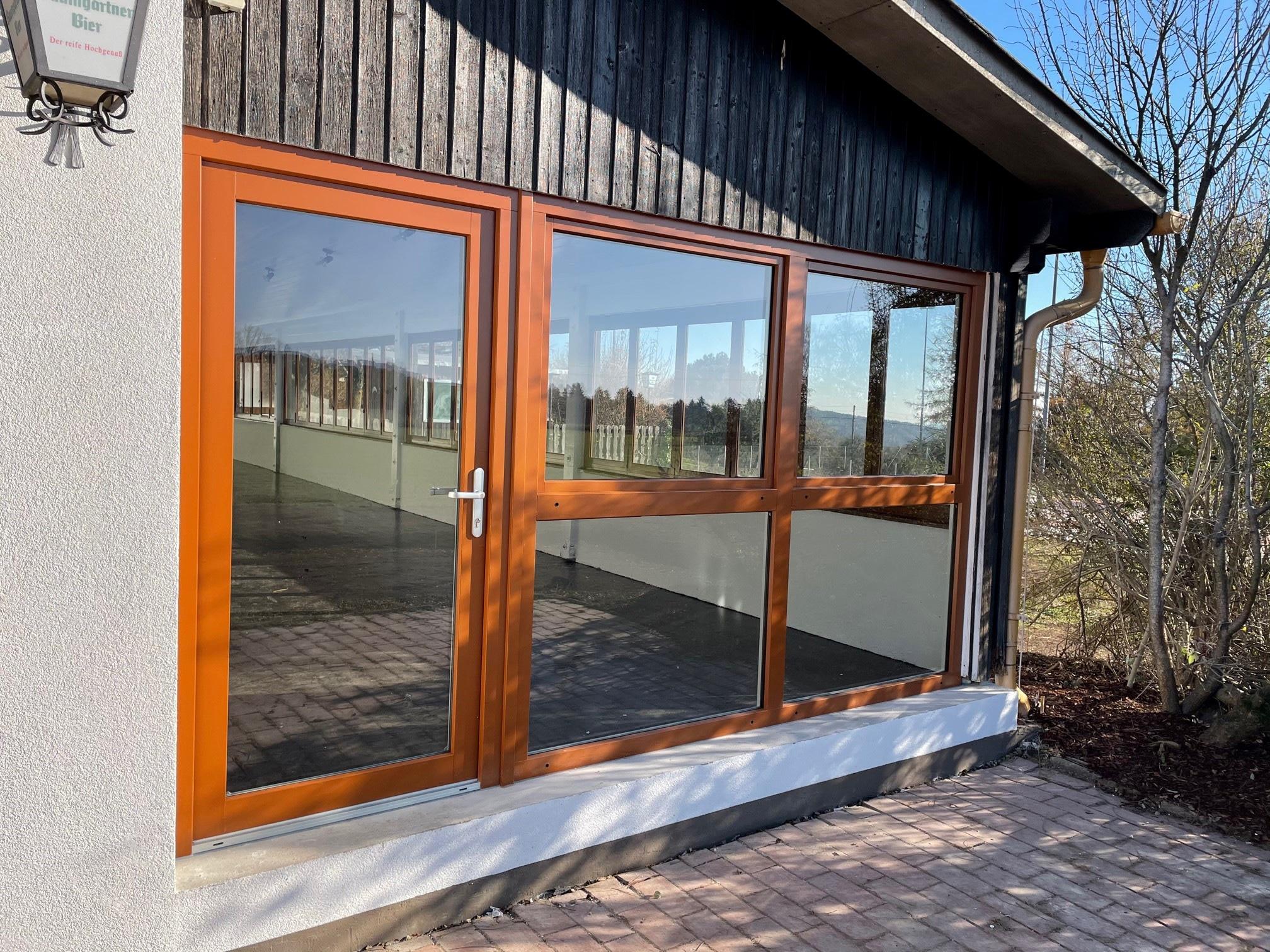 Terrassenverglasung im Altbau