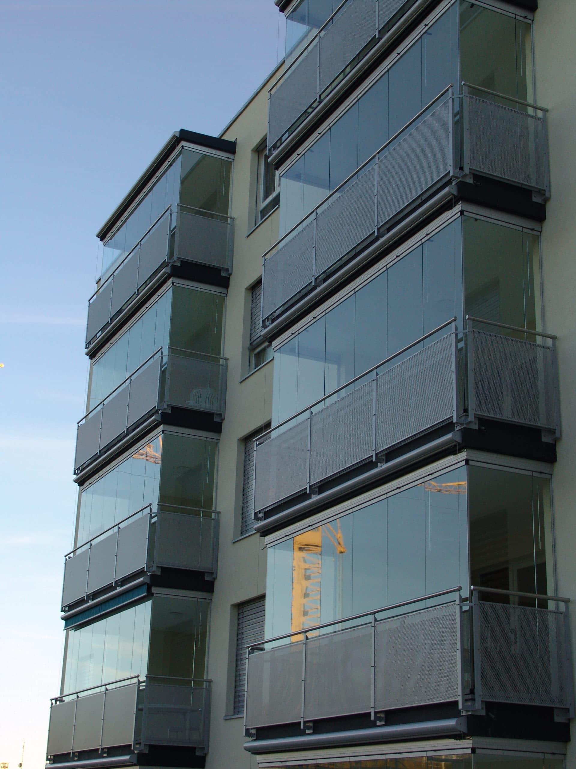 Transparente Balkon Wintergärten vom Hersteller