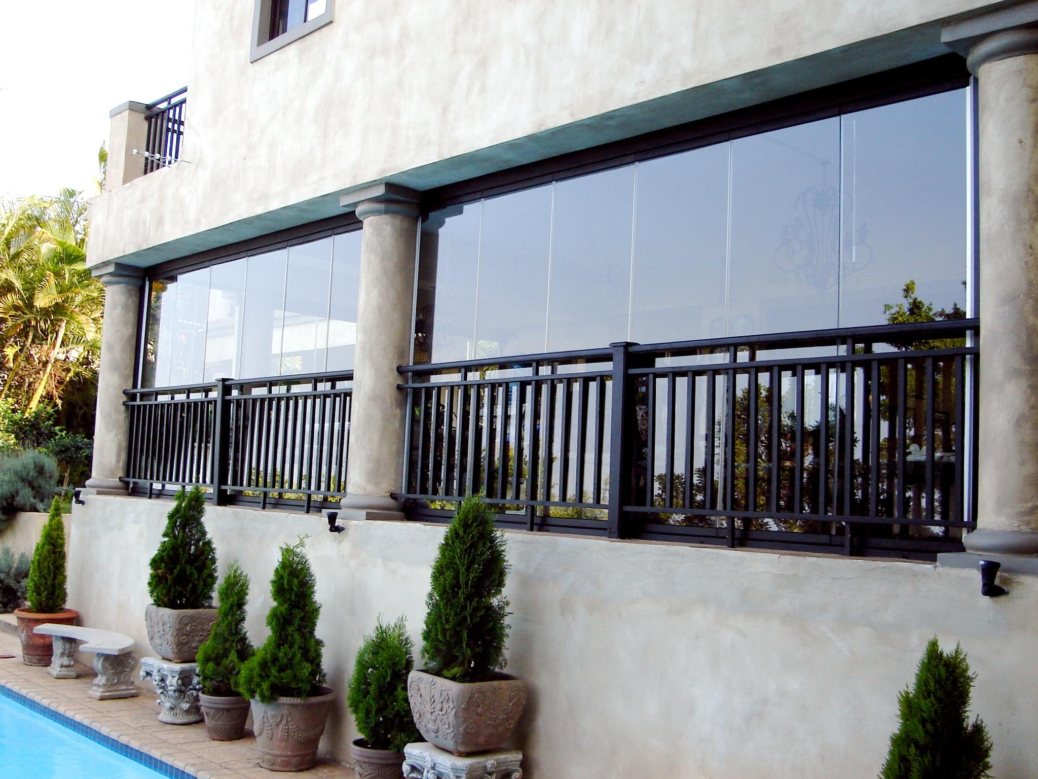 Transparente Terrassenverbauten vom Hersteller