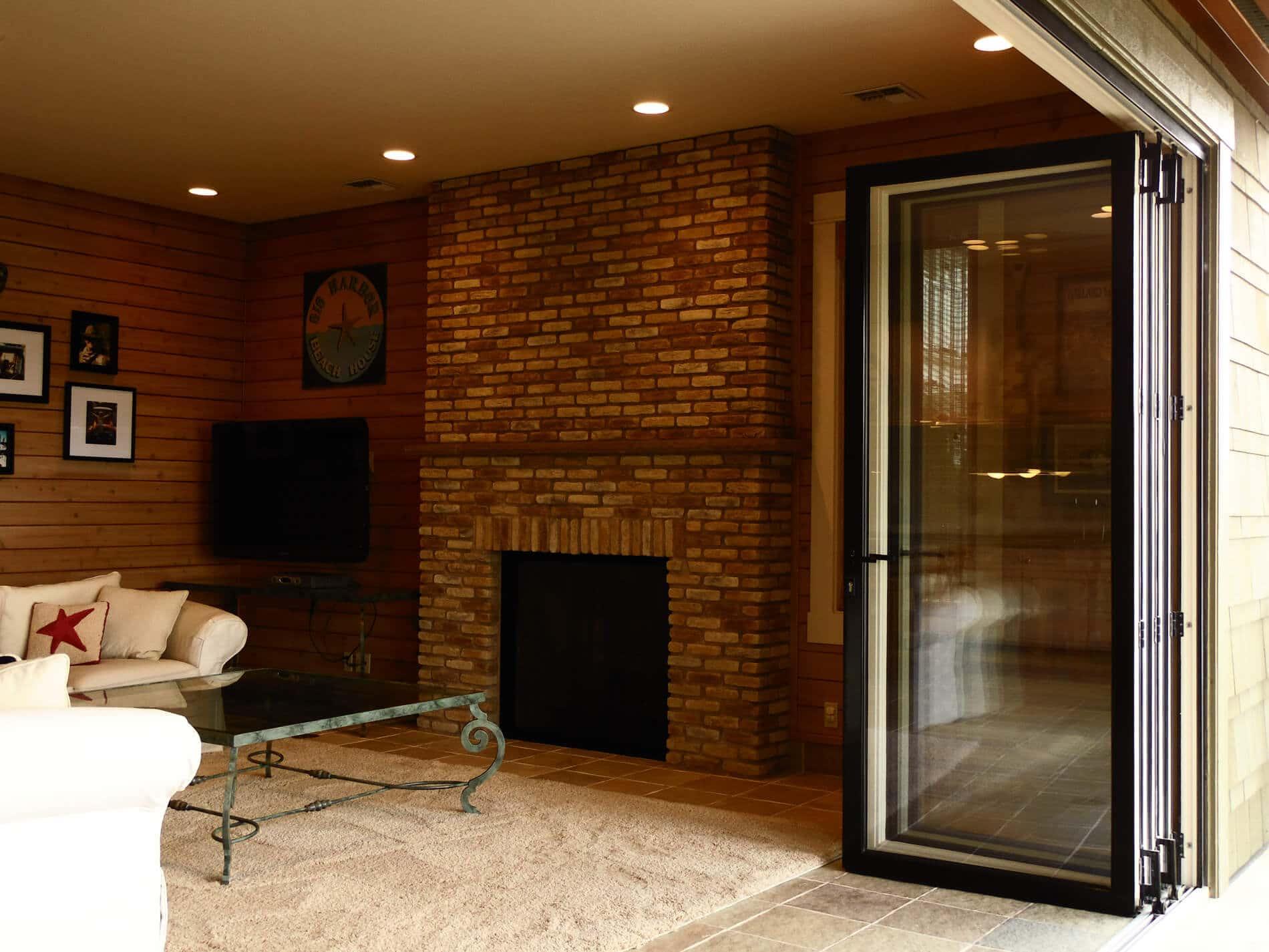 Türen zum Falten für Terrasse
