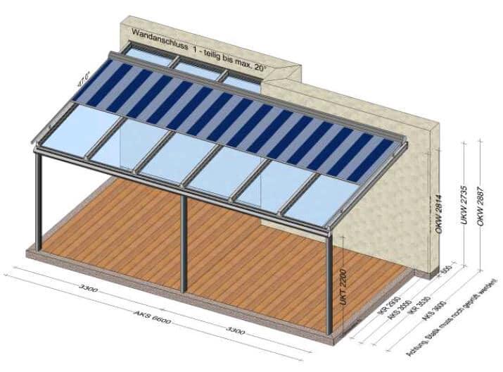 Überdachung Terrasse Beschattung